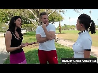 RealityKings - Milf Hunter - (India Summer, Shae Summers) - Topless Tennis