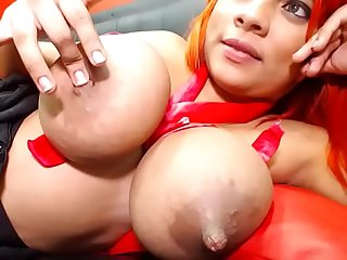 Big nipples sucking free cam show