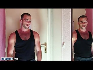 Full video a sexy str8 guy get wanked in spite of him by a guy