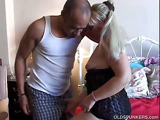Beautiful mature blonde enjoys a hard fucking