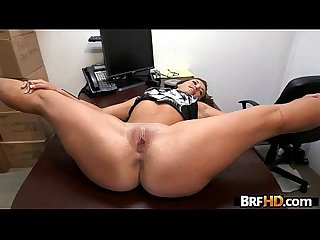 Tan ass beauty Kelsi Monroe flexible backroom fuck 2.2