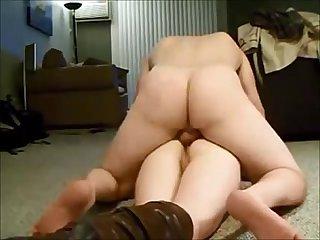 Big butt wife deep anal