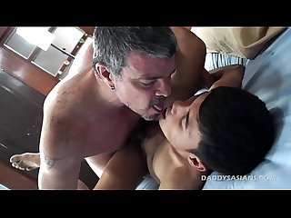 Daddy barebacks asian boy andrew