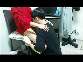 Korean guy suck his friend's dick 3