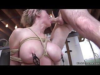 Dude anal bdsm fucks his Milf sitter