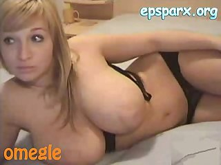 Omegle victorie heaven busty blonde black bra cam watch more at epsparx period org