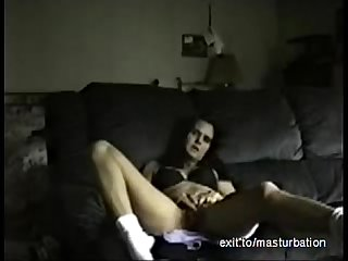 Single milf sue masturbates twice a day