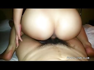 Fucking a Korean girl in the ass