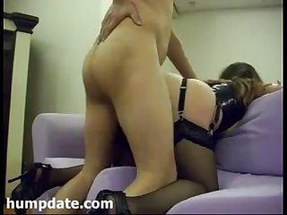 Sexy babe with hot ass gets nailed and jizzed
