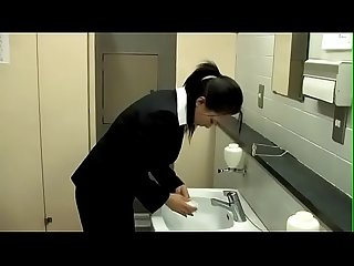 Japanese businesswoman forced to take it from behind