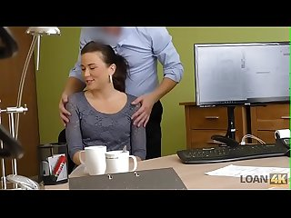 Fucked client in office
