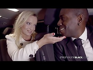 PrivateBlack - Victoria Pure Gets Interracial Anal Creampie!