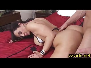 Lisa ann fucked hard on bed