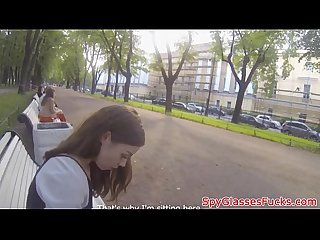 Russian girl picked up for spycam drill