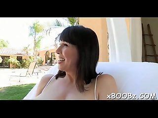 Beautiful breasty mommy and sex