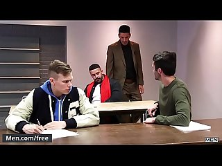 Men.com - (Mick Stallone, Teddy Torres) - Breakfast Cub A Gay Xxx Parody..