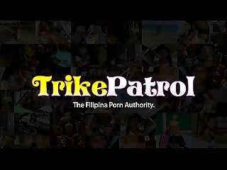 Trike Patrol - Pretty little Filipina babe gets hairy pussy slammed