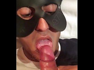 Narizinho trans Gozando muito Na boca E Na cara do personal trainer
