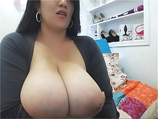 Big boobs brunette live on www sexygirlbunny tk