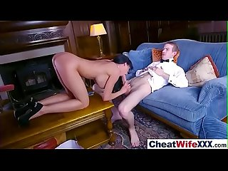 Amazing Sex Tape With Cheating Slut Housewife (patty michova) mov-21