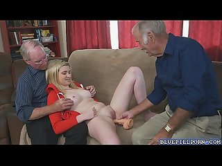 Duke gave stacie the real thing by whipping out his cock