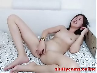 Petite Asian Babe Likes to Finger on Cam - More at http://sluttycams.online