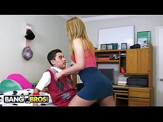 Bangbros juan el caballo loco gets tour of daisy stone s college pussy