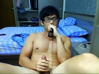[SPECSADDICTED.com] Lovely Chinese Boy with faces and cum (2)