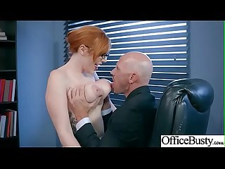Slut horny girl lpar lauren phillips rpar with big melon tits enjoy Sex in Office Video 20