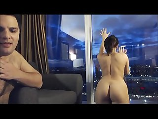 Hot las vegas hotel room fuck