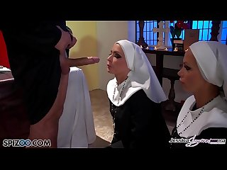 Jessica Jaymes - Mick fucks Jessica and Nikki in the church