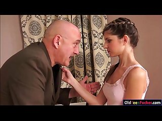 Teen doris ivy seduces her older stepdad