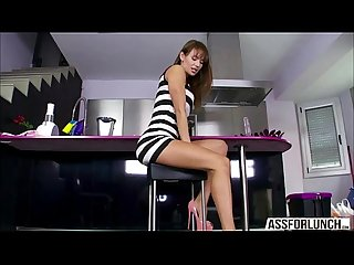 Faultless round ass darling franceska gets pussy fucked