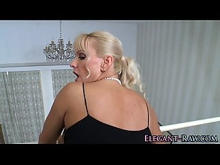 Glam euro milf ass fucked