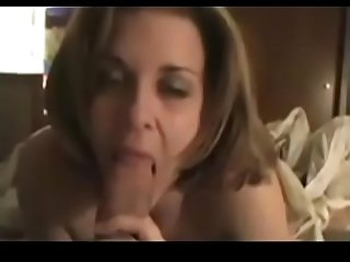 Incredible Normal Wife Giving An Outstanding Blowjob