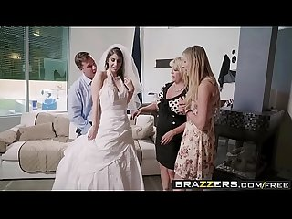 Brazzers - Real Wife Stories - Say Yes To Getting Fucked In Your Wedding Dress scene starring Karina