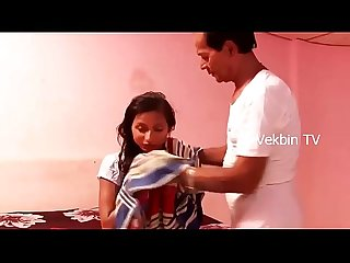 young indian Girl romance with uncle in bedroom latest Hot short film 2017 hd file lpar hdmusic99 p