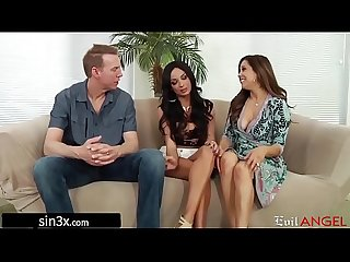Gorgeous french student fucked by pervy landlord couple anissa kate comma francesca le