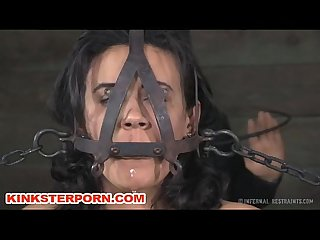 Maledom bdsm slave barber torments in chains