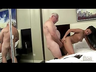 Older daddy with Teen Girl hard period mp4