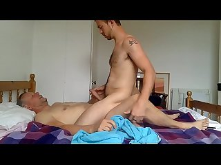 Older fucking younger bareback