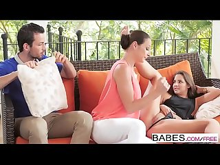 Babes step mom lessons mind your manners starring amirah adara and joel and martina gold clip