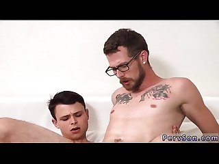 Teen gay sex porn Video bathroom first time how to fuck your dad