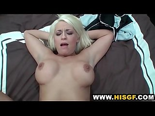 Kori taylor gets her pussy boned by her man