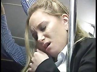 Aiden starr gets fingered in bus then fucked