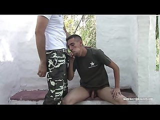 Daddy barebacks latin Twink erick
