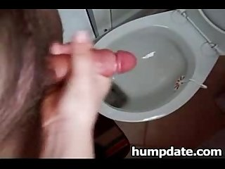 Wife sucks cock and gives handjob