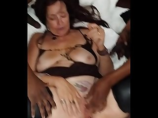Elizabeth blackwood asks how many bbc s will be cuming in her at the all night gangbang
