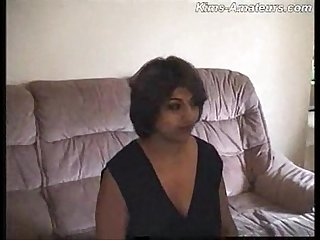 Indian milf having fun with white men