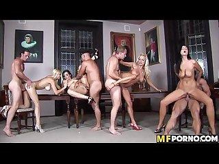 Amazing orgy Anastacia Divine, Angel Velvet, Christina Jolie, Sharon Pink 1 3
